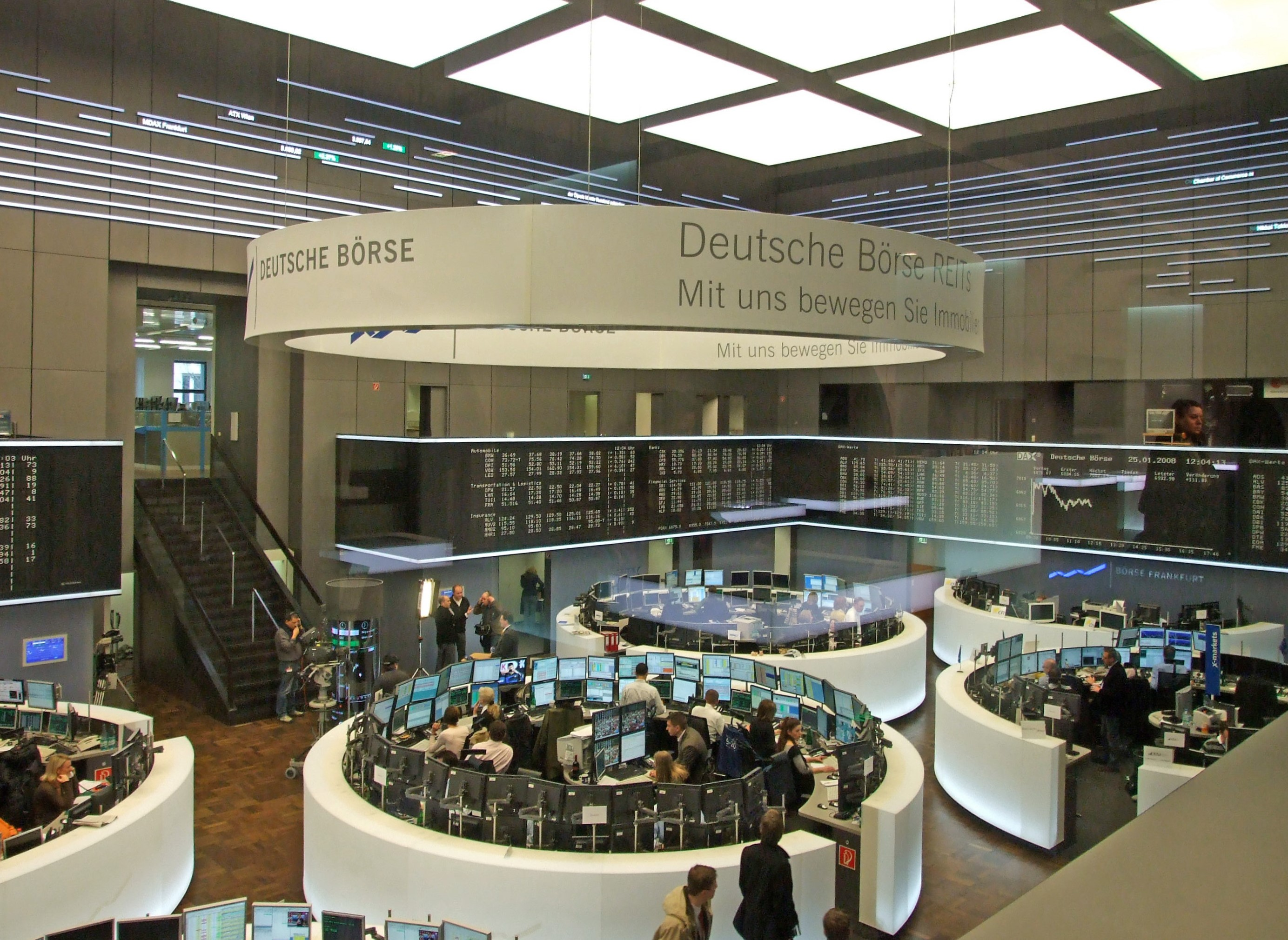Frankfurt Stock market
